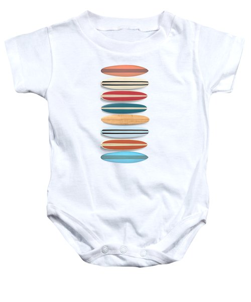 Surf Boards Tee And Phone Case Baby Onesie