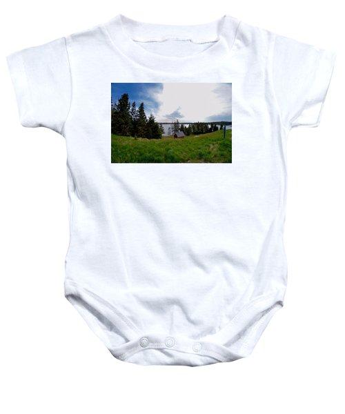 Swans Island Bay Baby Onesie