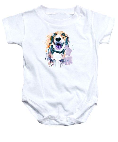 Sweet Beagle Baby Onesie