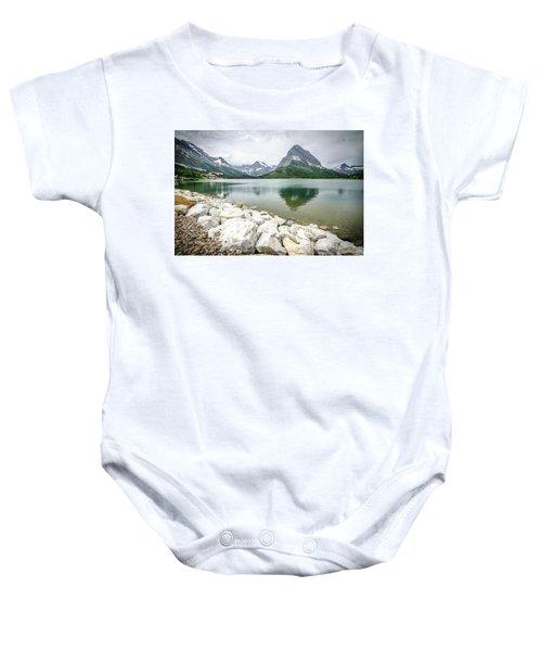 Swiftcurrent Lake Baby Onesie