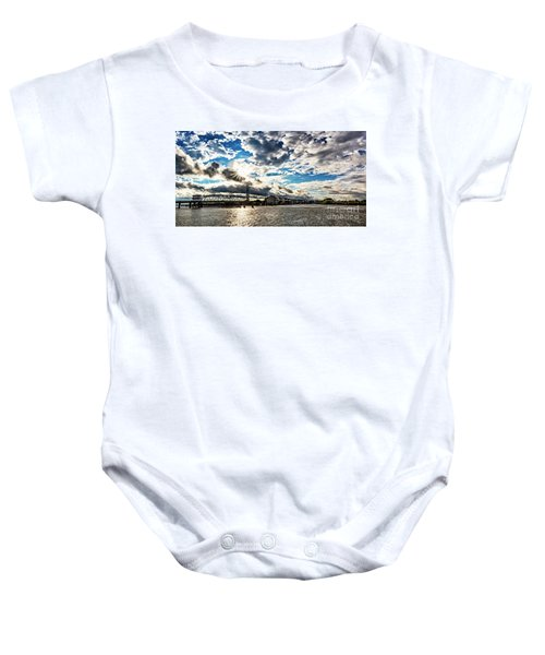 Swing Bridge Drama Baby Onesie