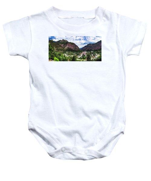 Switzerland Of America Baby Onesie