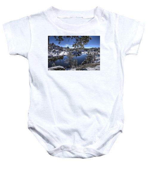 Sylvan Lake Baby Onesie