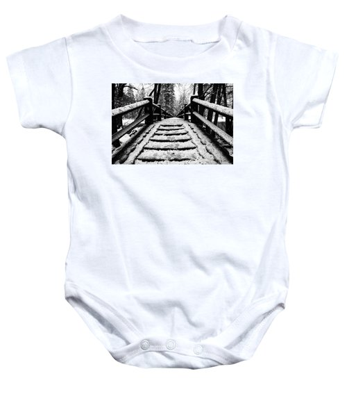 Take A Walk With Me Baby Onesie