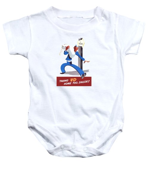 Taking Vd Home Too Sailor Baby Onesie