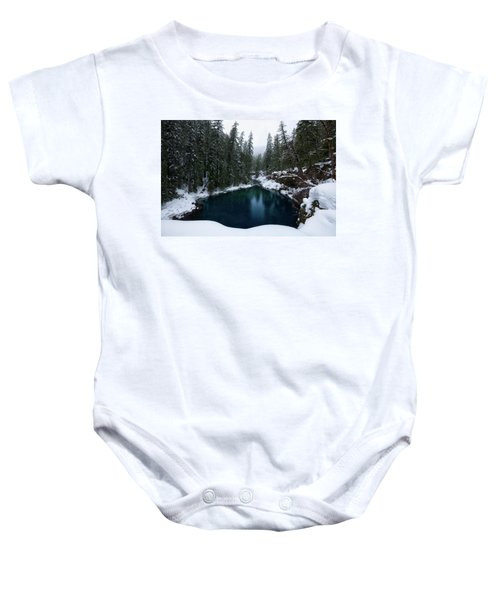 Tamolitch Pool Baby Onesie