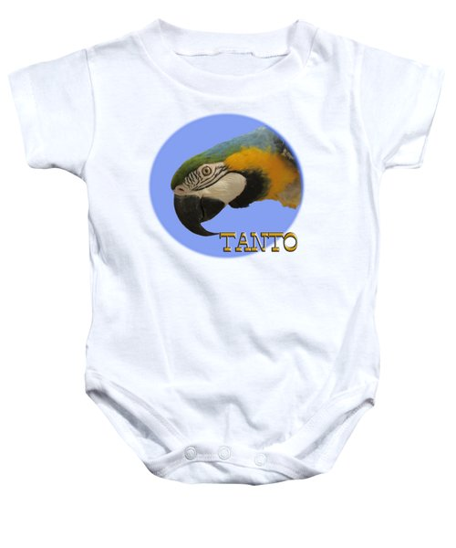 Tanto Baby Onesie by Zazu's House Parrot Sanctuary