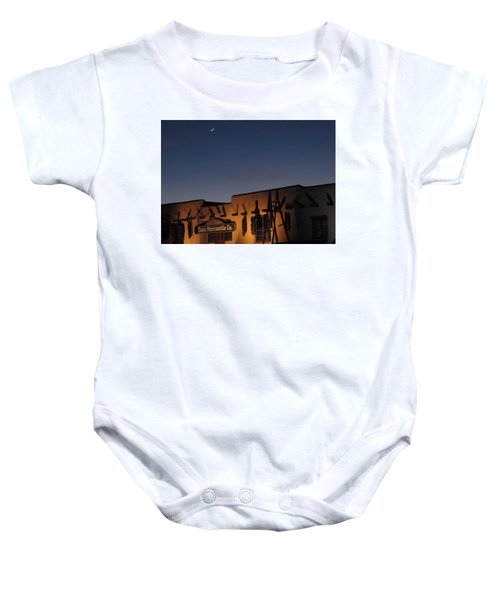 Taos Plaza Baby Onesie