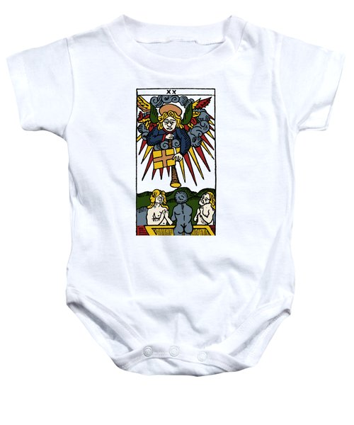 Tarot Card Judgement Baby Onesie
