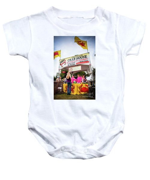 Taste Of Charleston Baby Onesie