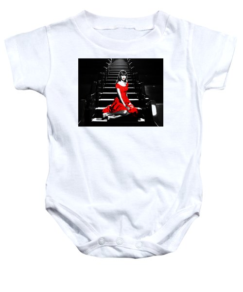 Taylor Swift 8c Baby Onesie by Brian Reaves