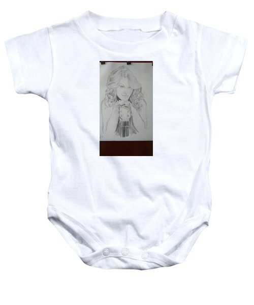 Taylor Swift Baby Onesie by Jiyad Mohammed nasser