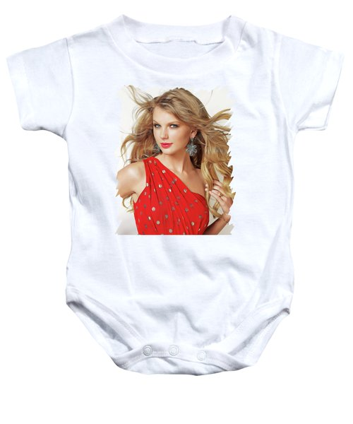 Taylor Swift Baby Onesie by Twinkle Mehta