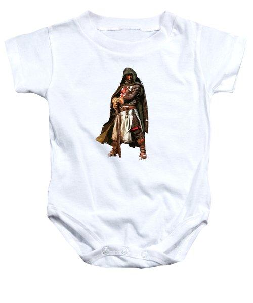 Templar Medieval Warrior Baby Onesie