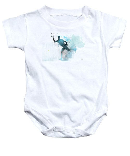 Tennis Player -19 Baby Onesie