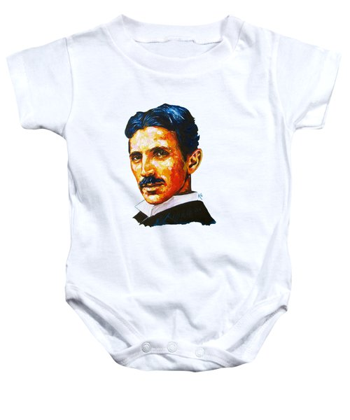 Tesla - Pure Genius Baby Onesie