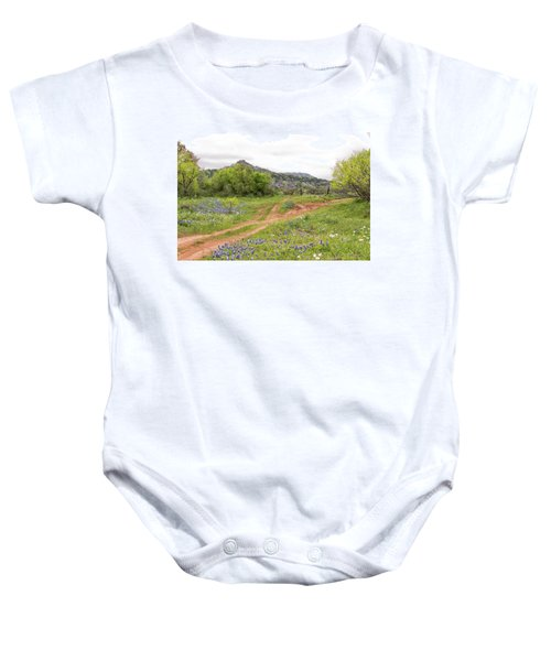 Texas Hill Country Baby Onesie