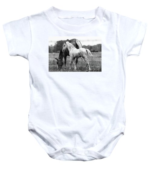 Baby Onesie featuring the photograph Texas Ranch  by Vincent Bonafede
