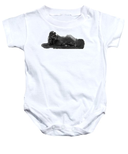 That Beautiful Black Panther Baby Onesie