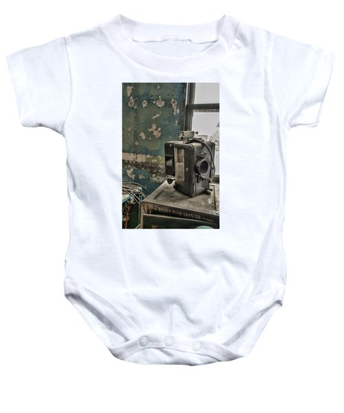 The Abandoned Projector Baby Onesie