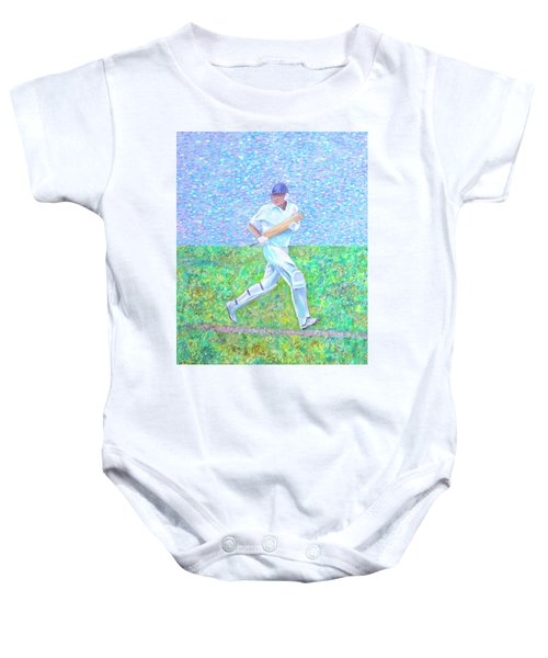 The Batsman Baby Onesie