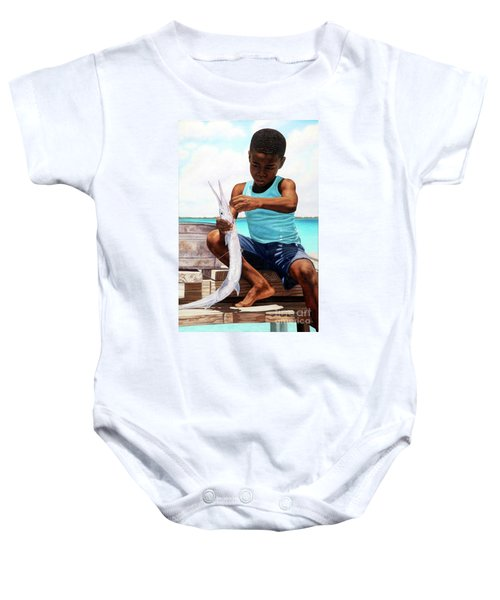 The Big Catch Baby Onesie