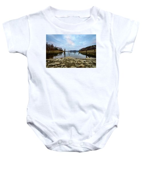 The Bottom Of The Lake Baby Onesie