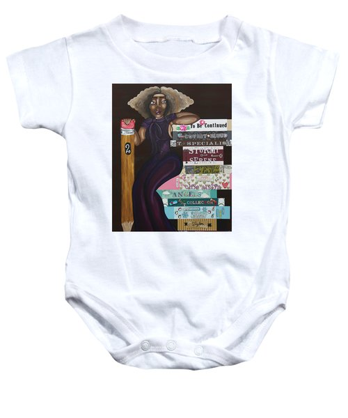 The Chapters Of My Life Baby Onesie