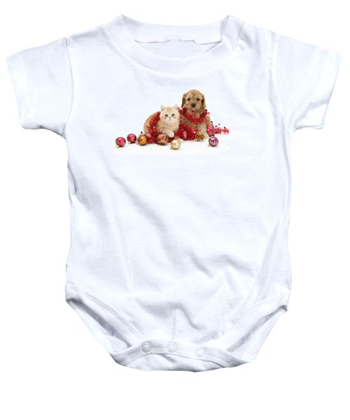 The Christmas Tree Destroyers Baby Onesie