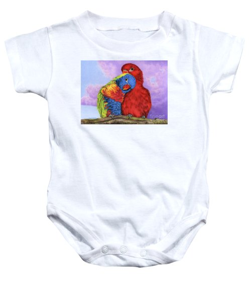 The Color Of Love Baby Onesie