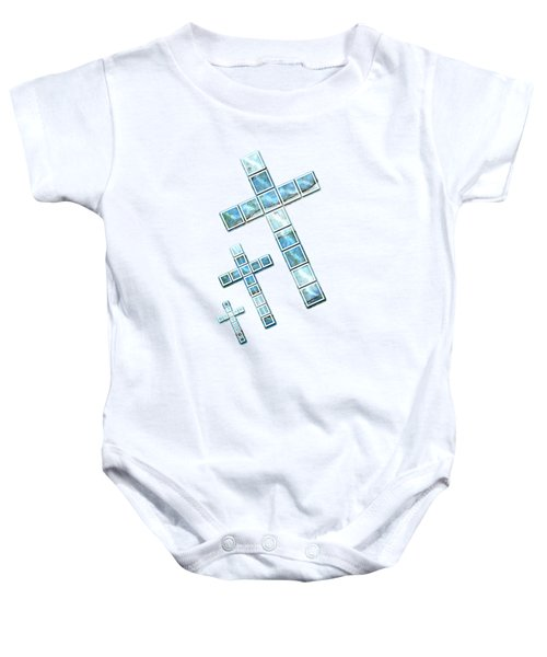 The Cross Speaks Of You Baby Onesie