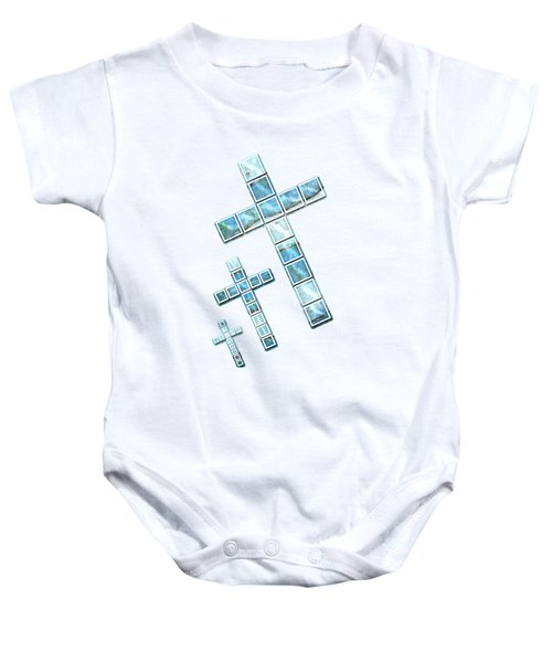 The Cross Speaks Of You Baby Onesie