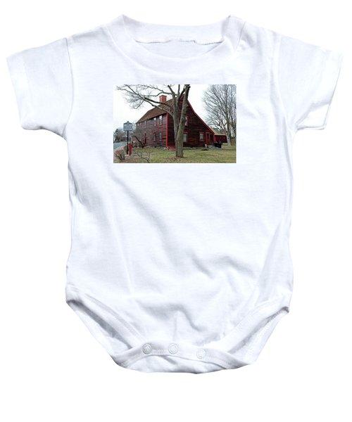 The Deane Winthrop House Baby Onesie