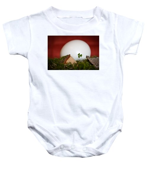 the egg - Happy Easter Baby Onesie