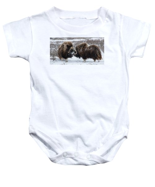 The Face Off  Baby Onesie