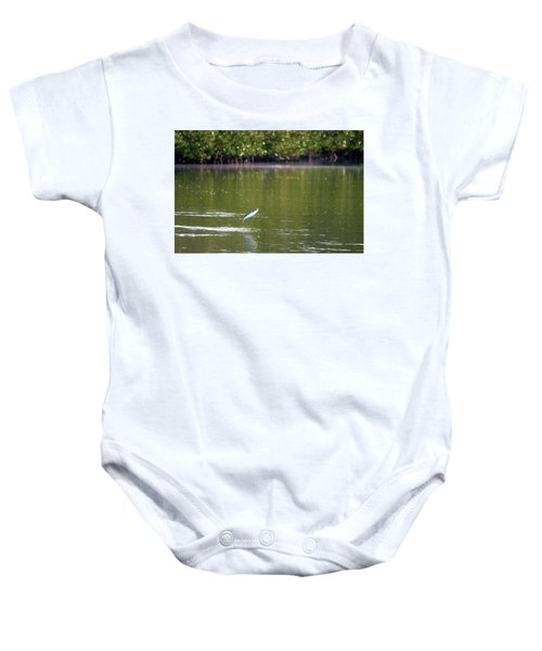 The Fish Are Jumping Baby Onesie