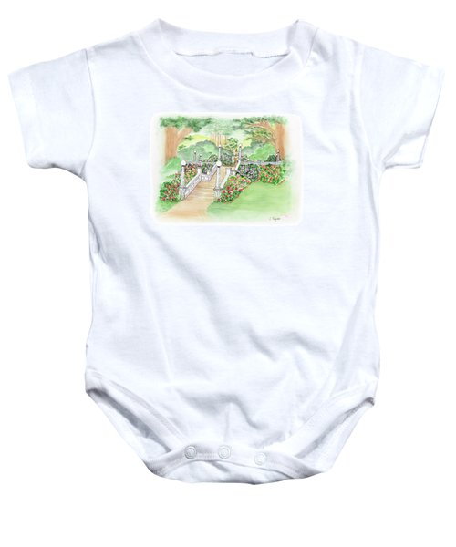 The Fountain Baby Onesie