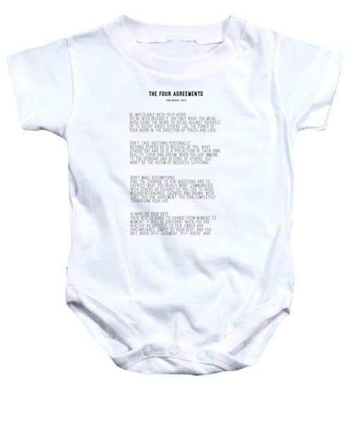 The Four Agreements 5 Baby Onesie