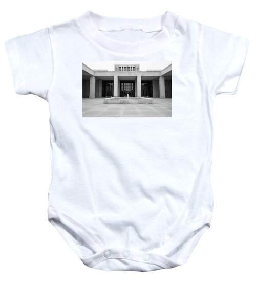 The George W. Bush Presidential Library And Museum  Baby Onesie by Robert Bellomy