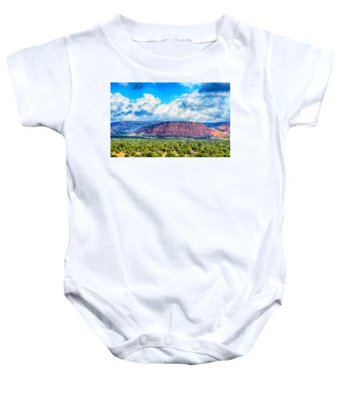 The Great Divide Baby Onesie