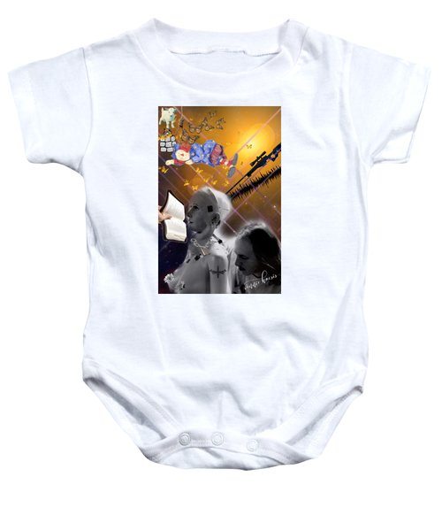 The Handler And The Slave Baby Onesie