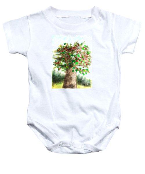 The Holy Oak Tree Baby Onesie