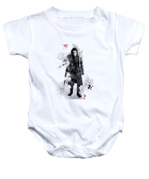 The Joker Baby Onesie by Marlene Watson