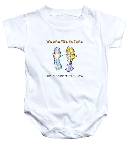 The Kids Of Tomorrow Ariel And Darla Baby Onesie