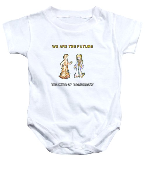 The Kids Of Tomorrow Corie And Albert Baby Onesie