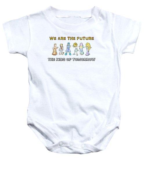 The Kids Of Tomorrow Baby Onesie