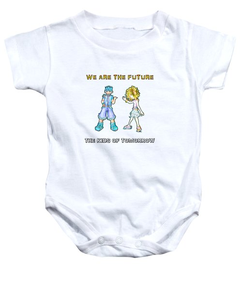 The Kids Of Tomorrow Toby And Daphne Baby Onesie