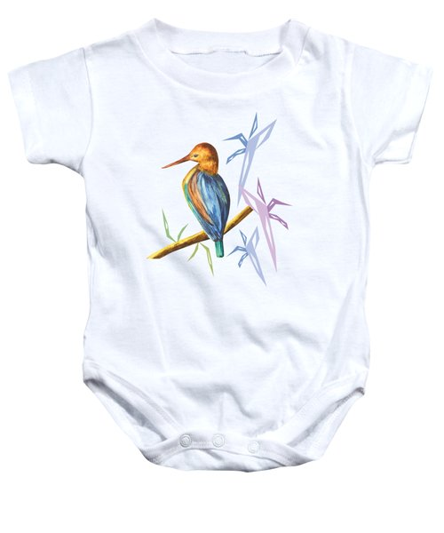 The King Appeared A Baby Onesie by Thecla Correya