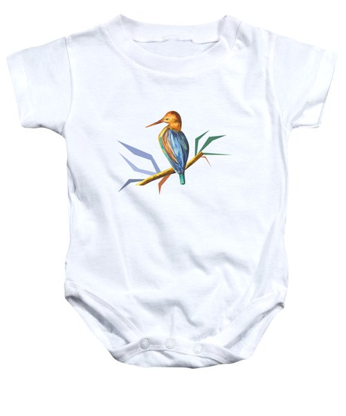 The King Appeared B Baby Onesie by Thecla Correya