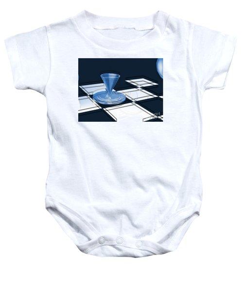 The Last Chess Pawn Baby Onesie